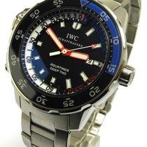 IWC Aquatimer Deep Two Ref Iw 3547 Edelstahl Mt 3 Bändern