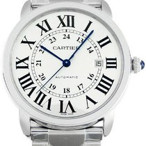 Cartier Ronde Solo Silver Dial X-Large Steel Automatic...