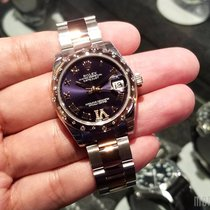 Rolex 178341VI Purple Dial (Oyster Bracelet) Datejust 31mm