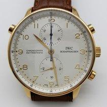 IWC Portuguese Chrono Rattrapante Automatic Chronograph Mens...
