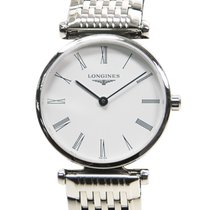 Longines La Grande Stainless Steel White Quartz L4.209.4.11.6