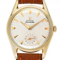 Omega Seamaster kleine Sekunde Gelbgold Handaufzug Armband...