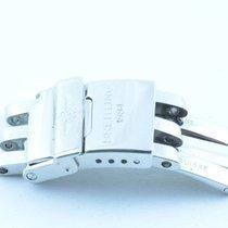 Breitling Faltschliesse 14mm Für Pilotband Stahl Band 16/15mm...
