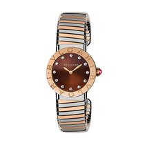 Bulgari Tubogas Ladies 26mm Watch 102456