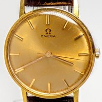 Omega Vintage 18 kt Yellow Gold - Cal600 - Men - 1960-1969