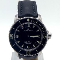 Blancpain Fifty 50 Fathoms Diver Ceramic 5015-1130-52a 45mm Bp...