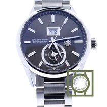 TAG Heuer Carrera Calibre 8 GMT 41mm Anthracite Dial Full...
