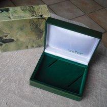 Rolex seltene grüne Oyster vintage Lederbox