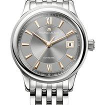 Maurice Lacroix Les Classique Date, Gold Index Grey Dial,...