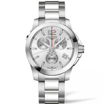 Longines Conquest Quartz Chronograph Men's Watch