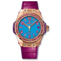 Hublot Big Bang One Click Pop Art King Gold Rose 39 mm