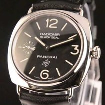 Panerai Radiomir Black Seal Logo Acciaio  Ref. PAM 380
