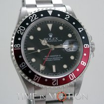 Rolex GMT MASTER II 16710 COKETritium Dial Certyif Rolex + Boite