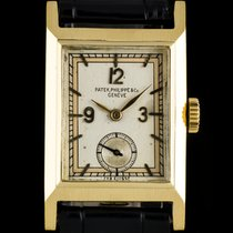Πατέκ Φιλίπ (Patek Philippe) 18k Yellow Gold Silver Dial...