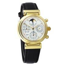 IWC Da Vinci IW3750 perpetual calendar gold   SERVICED