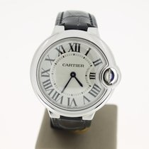 Cartier BallonBleu Steel 33mm (B&P2015) MINT Quartz...