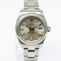 Rolex Lady Datejust Edelstahl Zifferblatt 179160 2009 LC 100