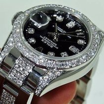 Rolex Ladies Datejust Watch Diamond Dial Lugs  Yr 2012