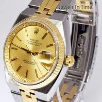 Ρολεξ (Rolex) Rare Datejust Automatic 14k Yellow Gold &...