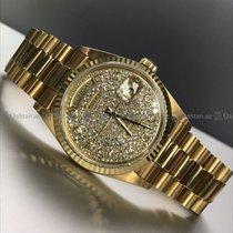 Rolex - Day Date Full diamond Dial YG 18238