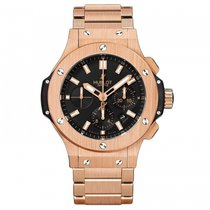Hublot Big Bang 44mm  18k Rose Gold Mens WATCH 301.PX.1180.PX