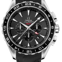 Omega Seamaster Aqua Terra GMT Chronograph Stainless Steel