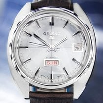 Orient AAA Large 37mm Automatic 21 Jewels Made in Japan Rare...