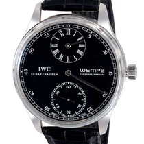 IWC Portuguese Regulateur Wempe Limited Edition — Platinum on...