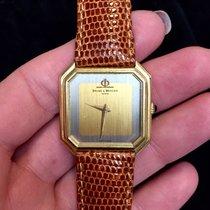Baume & Mercier 14k Yellow Gold Ladies Watch Original...
