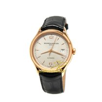 Baume & Mercier Clifton Automatic Silver - Red Gold 10058