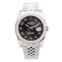 勞力士 (Rolex) Datejust Stainless Steel With Diamonds Black...