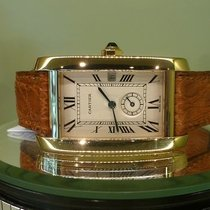 Cartier tank americaine or jaune ref w 2600351 quartz [On Hold]