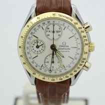 Omega Two Tone Yellow Gold Speedmaster Day Date O33213000