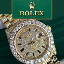 Rolex Day Date Ii President 41mm 18k Yelow Gold With Custom...