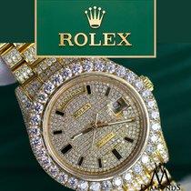 Rolex Day Date Ii President 41mm 18k Yelow Gold With Custom...