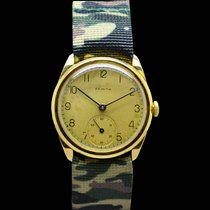 제니트 (Zenith) Fixed Lugs Military Type Gold 18 KT