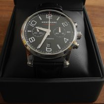 Montblanc Timewalker Chronograph  automatic black schwarz