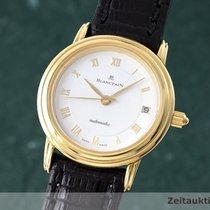 Blancpain Lady 18k (0,750) Gold Villeret Damenuhr Automatik Datum