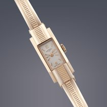 Vintage Rotary 9ct gold manual bangle watch