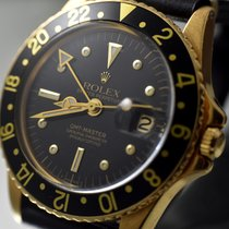 Rolex GMT-Master 1675 YELLOW GOLD VERY EARLY (1972) NIPPLE DIAL