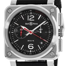 Bell & Ross BR 03-94 Men's Watch BR0394-BLC-ST/SCA