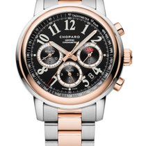 Chopard Mille Miglia Chronograph 18K Rose Gold & Stainless...