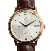 歐米茄 (Omega) De Ville 18k Rose Gold Silver Automatic 424.53.40....