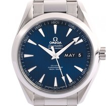 Omega Seamaster Aqua Terra Co-Axial Stahl Automatik Armband...