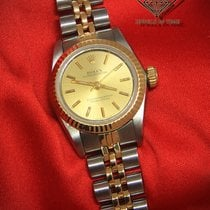 Rolex Oyster Perpetual No Date 18k Yellow Gold/Steel Ladies...