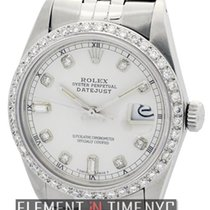 Rolex Datejust 36mm Stainless Steel Diamond Dial And Bezel