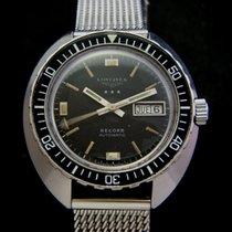 Longines Rare Vintage Record Diver Men's Watch 70's