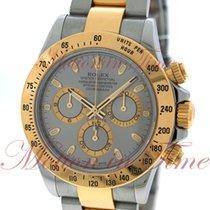 Rolex Cosmograph Daytona, Grey Dial - Yellow Gold & Steel...
