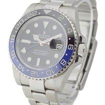 Rolex Used 116710BLNR_used Blue Black GMT Master II 16710BLNR...