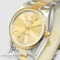 Rolex Oyster Perpetual  Ref. 14233 Stahl/Gold  34mm